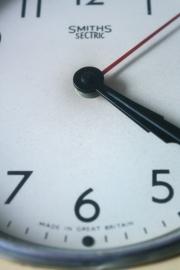 Wandklok Smith Sectric `50 / Wall clock Smith Sectric `50