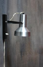 Aluminium zwart spotje / Aluminium black spotlight