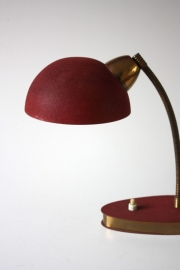 Leeslampje rood ´40  /  Reading lamp `40 [sold]