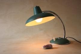 Vintage groene bureaulampje `50 / Vintage green desk lamp `50 [verkocht]