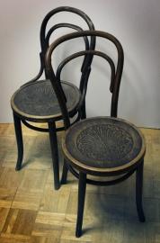 2 Thonet theater stoelen / 2 Thonet theater chairs [verkocht]