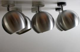 Bol spots aluminium 6x / Globe spots aluminium 6x [sold]