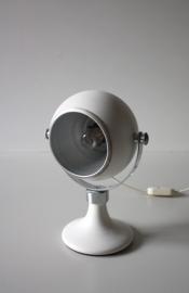 Wit sixties bolletje lamp / White sixties globe [verkocht]