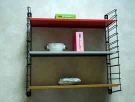 Tomado metalen wandrekje `50  2 / Tomado colorfull metal wall shelf `50  2 [verkocht]