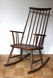 Schommelstoel deense stijl / Rocking chair danish style [verkocht]