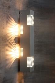 Rechthoekig Philips wandlamp `70 / Rectangular Philips Wall lamp ` 70 [verkocht]