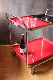 Vintage theewagentje Torck / Vintage serving cart Torck  [verkocht ]