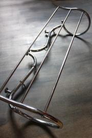Buisframe kapstok chroom / Tube frame chrome coat rack [verkocht]