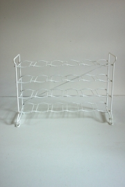Tomado wijnrek wit / Tomado white wine rack [sold]