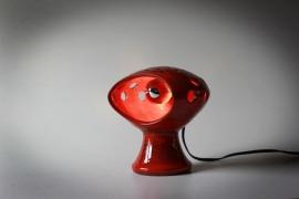 Ceramisch tafellampje / Ceramique table lamp [verkocht]