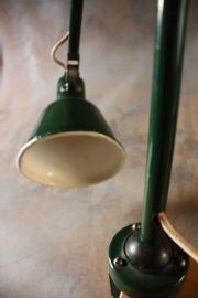 Industriële verstelbare retro werklamp / Industriële adjustable retro work lamp [verkocht]