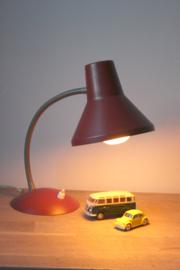 Rood vintage bureaulamp / Vintage Red Desklamp [sold]
