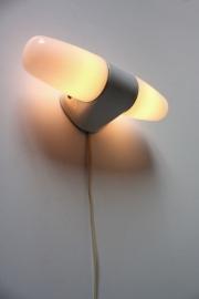 Ceramische dubbele muurlamp / Ceramic double wall lamp [verkocht]