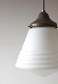 Art deco hanglamp / Art Deco hanging lamp [verkocht]