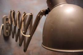 Vintage schaarlamp `50 / Vintage scissors lamp `50 [verkocht]