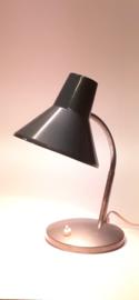 Vintage grijsblauw lampje / Vintage gray desklamp