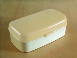 Ivoor witte `60 broodtrommel / ivory white `60 bread bin creme [verkocht]