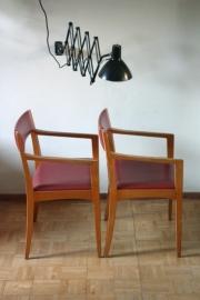 5 Wilkhahn eetkamerstoelen / Wilkhahn dinnerchairs [verkocht ]
