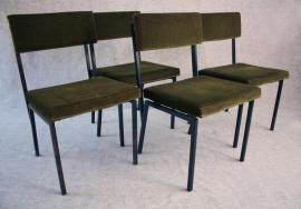 Vier groene design stoeltjes [verkocht]