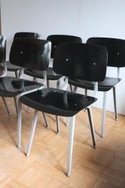 Friso Kramer Result stoel zwart 6x [verkocht]