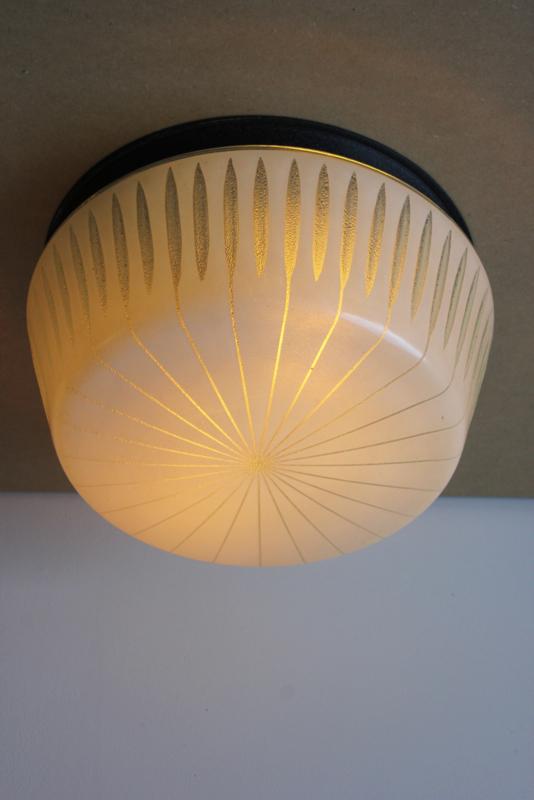 Vintage plafondlamp / Vintage Ceiling lamp [sold]