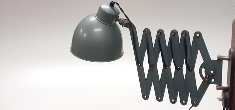 Vintage Schaarlamp / Vintage Scissors Lamp [sold]