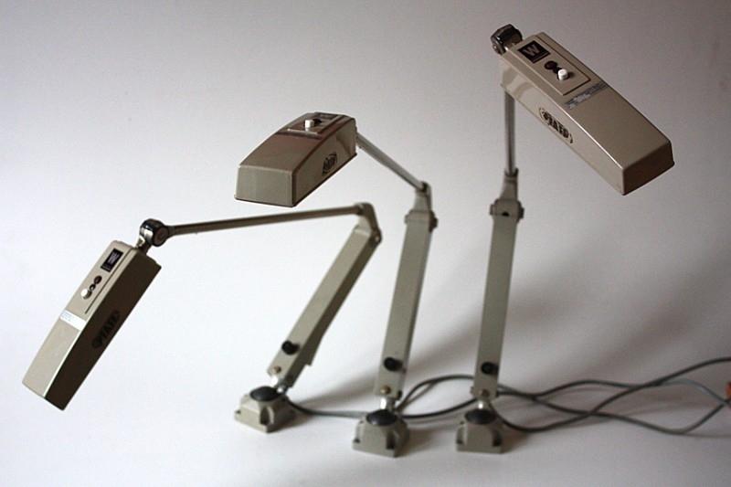 Industriële lampen / Industrial lamps [verkocht]