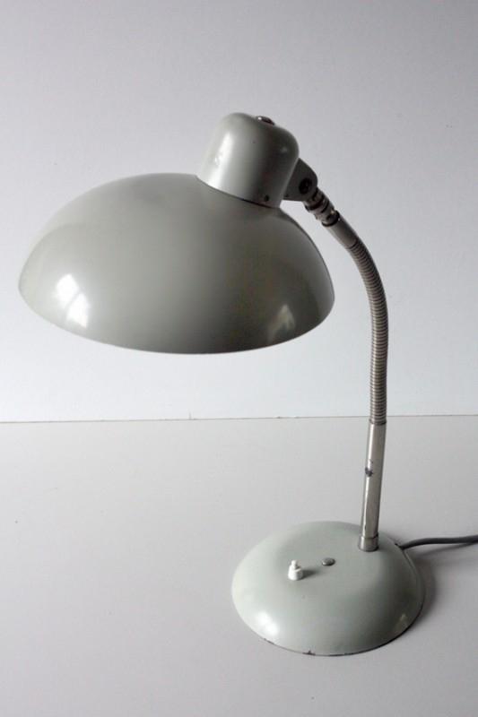 Sis bureaulamp grijs / Sis gray desk lamp [sold]