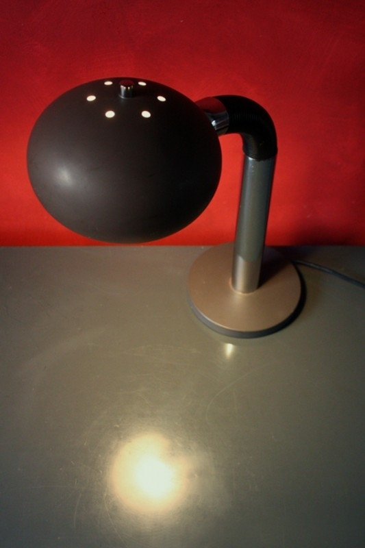 Buigbare vintage bureaulamp / Bendable vintage desk lamp