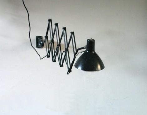 Hala industriele vouwlamp / Hala industrial scissor lamp [verkocht]