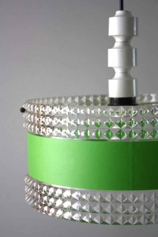Sixties hanglamp groen / Sixties hanging lamp green