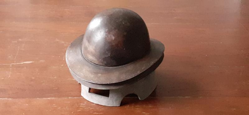 Vintage Bolhoed mal / Vintage Bowler Hat mould