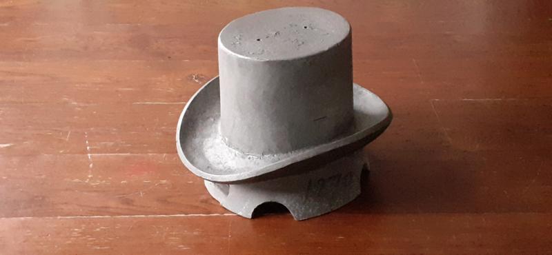 Vintage hoge hoed mal / Vintage Hi Hat mould