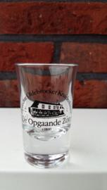 Oprechte Oldebroeker Kruidenbitter Borrel Glas !