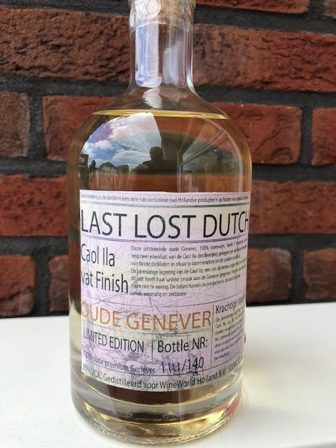 Last Lost Dutch   Caol IIa vat Finisch