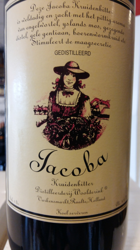 Woolderink 's    JACOBA KRUIDENBITTER   Raalte