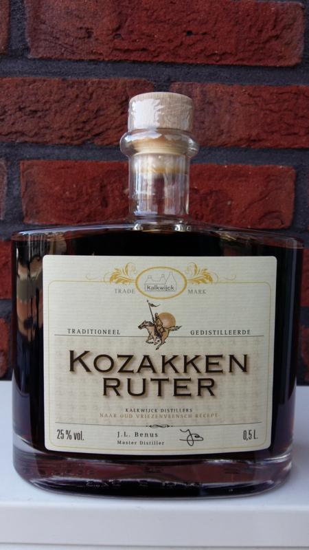 Kalkwijck Kozakken Ruter Kruiden Likeur   50 Cl