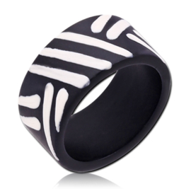 houten Tribal ring