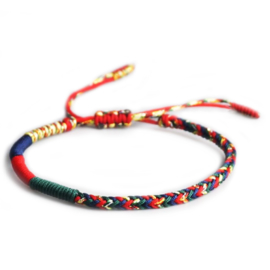 Tibetan Buddhist colored bracelet