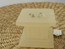illuminati silver earrings