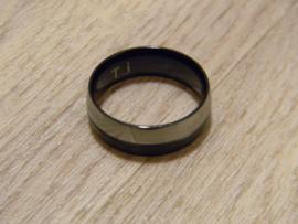 Titanium heren ring