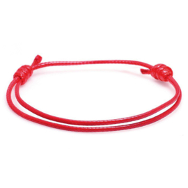 red Kabbalah string bracelet