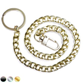 Sleutel portemonnee broek ketting
