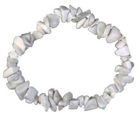 power bracelet howlite