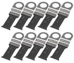 Actie pakket: 11 zaagjes SC15 bi-metaal 28x60mm.