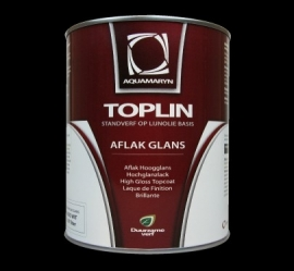 TOPLIN Aflak glans  (aquamarijn natuurverf)
