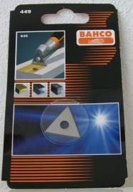 Bahco verfschraper reservemes driehoek 25mm