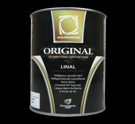 ORIGINAL LINAL  Systeemverf 1 Ltr.(aquamarijn natuurverf)