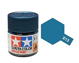 Metallic Blauw X13