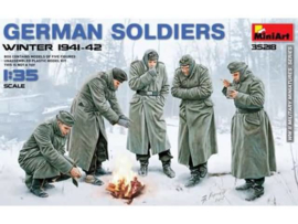 German Soldiers winter 1941-1942